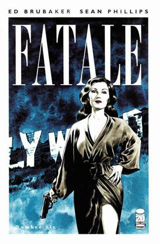 """Fatale"" issue No. 6. Image Comics."