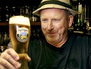 Mike Turek is the driving force behind the Choctaw Oktoberfest. He is shown with a German beer in his family's eatery, Old Germany Restaurant, on SE 29 near Indian Meridian. Photo by Jim Beckel, The Oklahoman Jim Beckel -
