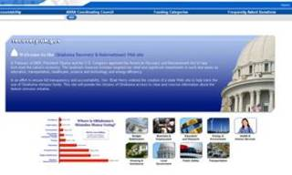 Oklahoma's current stimulus Web site.