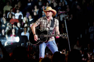 Jason Aldean performs in concert at New York's Madison Square Garden on March 2. Photo by Charles Sykes/Invision/AP Charles Sykes