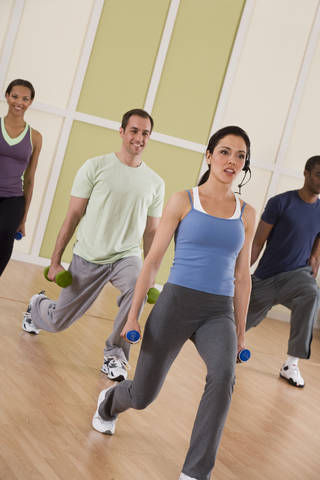 A study indicates that exercise can reduce stress. Comstock Images