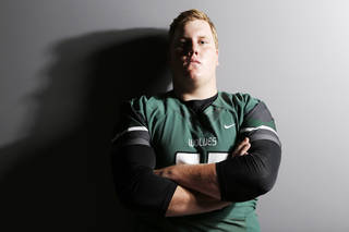 J.R. HENSLEY * Offensive lineman   Edmond Santa Fe   @JRHensley17 * Class: Senior * Height, weight: 6-foot-4, 285 pounds * College choice: Undecided * More on Hensley: Super 30: J.R. Hensley has big personality, big talent PHOTO BY DOUG HOKE, The Oklahoman