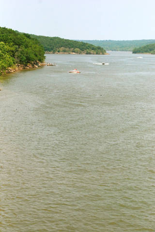 Boaters take to the water at Lake Eufaula. PHOTO PROVIDED