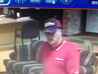 The FBI is looking for a white male, 40 to 50 years old, with medium to heavy build after the robbery that occurred about 4:15 p.m. Thursday at the InterBank, 123 W Main Street in Sayre.