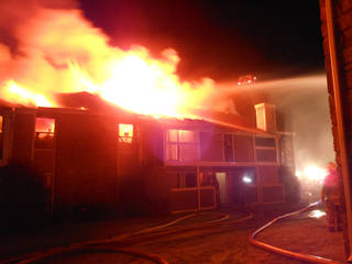 A 4 a.m. apartment fire July 15 at Raindance Apartments near NW 122 and N Pennsylvania Avenue in Oklahoma City destroyed 16 units, fire officials said. Silas Allen