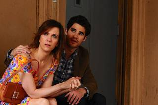 "Kristen Wiig and Darren Criss star in ""Girl Most Likely."" PHOTO PROVIDED"