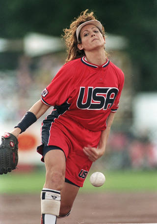 Former OSU pitcher Michele Smith.