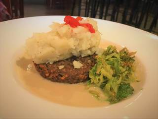 Meatloaf for vegans is on the menu daily at Picasso Cafe in Oklahoma City. [Dave Cathey/The Oklahoman]