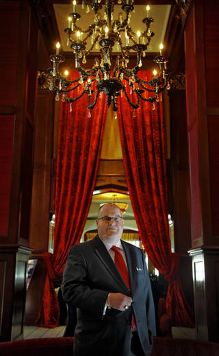 Martin van der Laan General Manager at The Skirvin Hilton, Oklahoma City at Marcus Hotels & Resorts on Monday, Sept. 10, 2012, in Oklahoma City, Okla. Photo by Chris Landsberger, The Oklahoman