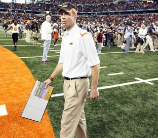 Mike Gundy Photo by Nate Billings, The Oklahoman