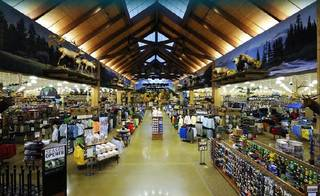 This is a typical layout for a Cabela's outdoor store. Photos provided Provided