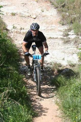 A mountain biker rides the trail at Roman Nose State Park. PHOTO PROVIDED