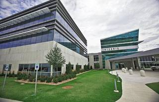 ProCure is celebrating a year of operation. The proton therapy center is adjacent to Integris Cancer Institute on Memorial Road near MacArthur Boulevard. Photo by Chris Landsberger