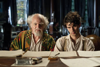 "This film image released by Warner Bros. Pictures shows Jim Broadbent, left, and Ben Whislaw in a scene from ""Cloud Atlas,"" an epic spanning centuries and genres. The film is an epic of shifting genres and intersecting souls that features Tom Hanks, Halle Berry, Jim Broadbent, Hugh Grant, Hugo Weaving, Ben Whishaw, Jim Sturgess, James D'Arcy, Doona Bae, Keith David, Sarandon and others in multiple roles spanning the centuries. AP Photo/Warner Bros. Pictures, Reiner Bajo Reiner Bajo - AP"
