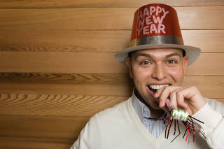 An Oklahoma City psychologist offers some tips on how work on happiness in the New Year. Creatas Images. Creatas Images