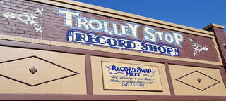 The Trolley Stop Record Shop, owned by John Dunning, is at 1807 N Classen Blvd. in Oklahoma City. Photo by Paul B. Southerland, The Oklahoman