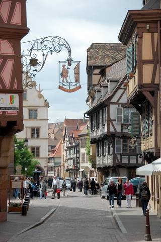 French or German? Alsace is both. (Photo by Cameron Hewitt)
