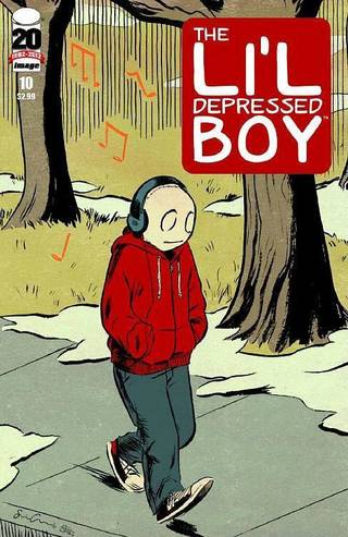 """Li'l Depressed Boy"" No. 10. Image Comics."