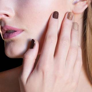 Estee Lauder's French Nudes Ombre nail polish collection. Photo provided.