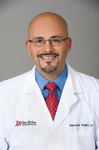 """Mahmoud Khaimi, M.D. """"I've had the privilege to teach ophthalmologists from throughout the nation and the world who have come to watch me do this particular procedure. We're doing the latest and the greatest here in Oklahoma,"""" said Khaimi, a glaucoma specialist at Oklahoma City's Dean McGee Eye Institute. John Jernigan - PROVIDED"""