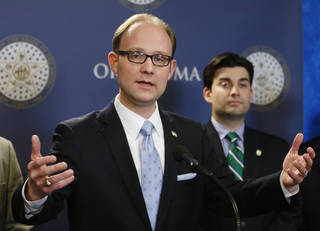 Scott Inman The House minority leader said Democrats would support a bond issue for repairs at the state Capitol.
