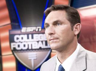 Craig James will call Tuesday's Holiday Bowl on ESPN. Photo provided