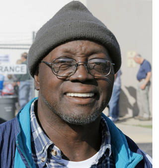 "Geno Taylor The Midwest City resident said he preferred the status quo. ""I figured that Obama wants to continue doing what he's doing. You need to let him continue."""
