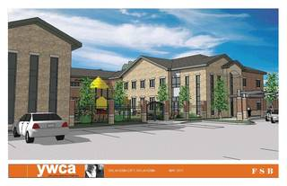 The YWCA's proposed emergency shelter, pictured in an architectural drawing here, received a $1.5 million grant from the Inasmuch Foundation. Drawing PROVIDED