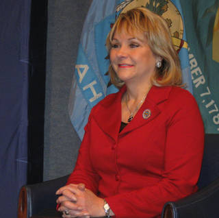 Gov. Mary Fallin The governor will reveal details of her health plan in her State of the State speech Monday.