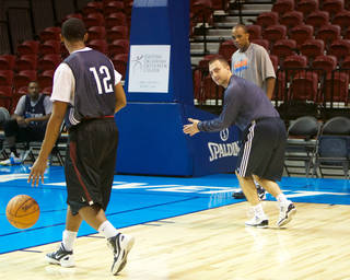 Tulsa 66ers coach Darko Rajakovic. PHOTO PROVIDED BY RICH CRIMI, TULSA 66ERS
