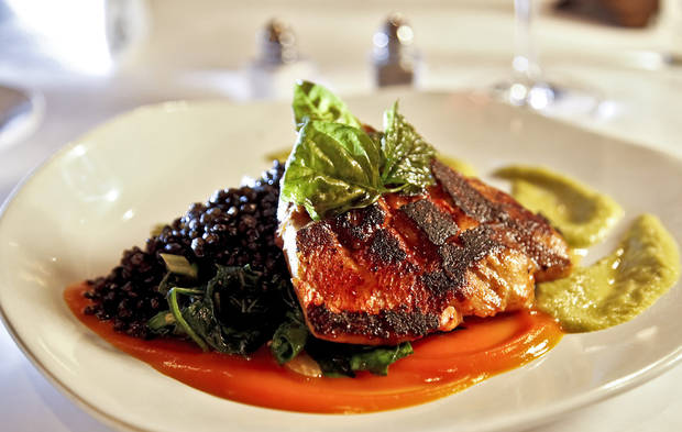 photo - FILE — Red Snapper at The Metro Wine Bar and Bistro dining room and bar on Wednesday, May 2, 2012, in Oklahoma City, Oklahoma. Photo by Chris Landsberger, The Oklahoman