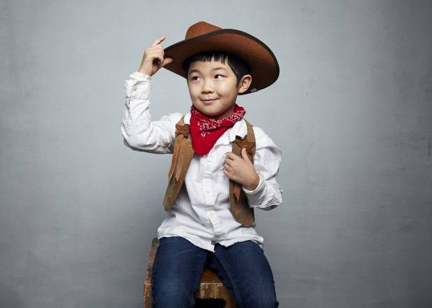 "Alan Kim poses for a portrait to promote the film ""Minari"" at the Music Lodge during the Sundance Film Festival on Monday, Jan. 27, 2020, in Park City, Utah. [Photo by Taylor Jewell/Invision/AP]"