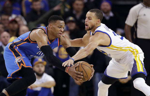 Thunder-Warriors highlights: Here are some of exchanges between Westbrook, Durant