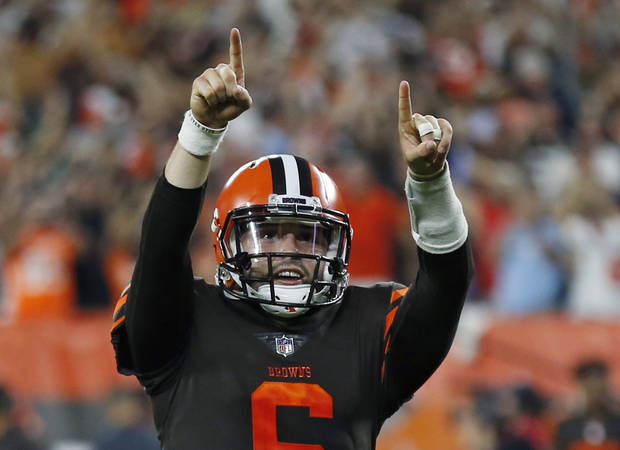 Cleveland Browns name Baker Mayfield starting quarterback