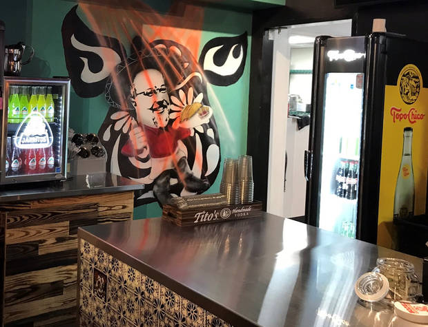 A look inside the new Hacienda Tacos in Midtown. [Dave Cathey/The Oklahoman]