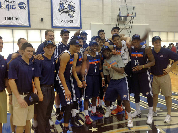 photo - Oklahoma City won the inaugural championship in the Orlando Pro Summer League.