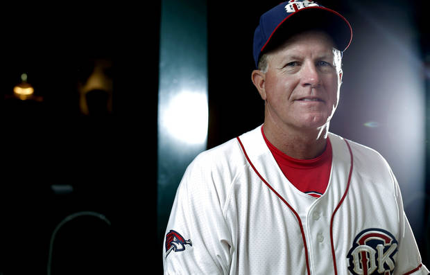 photo - Tom Lawless was the RedHawks' interim manager while Tony DeFrancesco underwent cancer treatments. Photo by Sarah Phipps, The Oklahoman