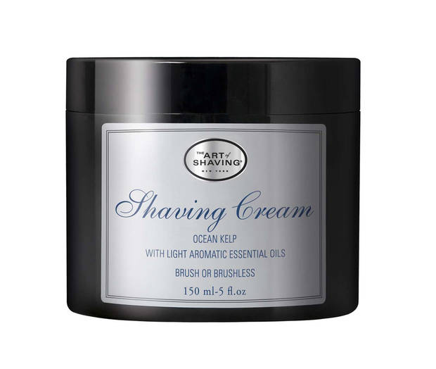 photo - The Art of Shaving Ocean Kelp Shaving Cream, $22 for 5 fluid ounces, available at the Art of Shaving boutiques, better department stores and online at www.theartofshaving.com. (Courtesy www.theartofshaving.com via Los Angeles Times/MCT)