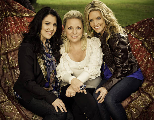 The contemporary Christian recording group Point of Grace is shown here: Leigh Cappillino, Shelley Breen and Denise Jones [Photo provided]