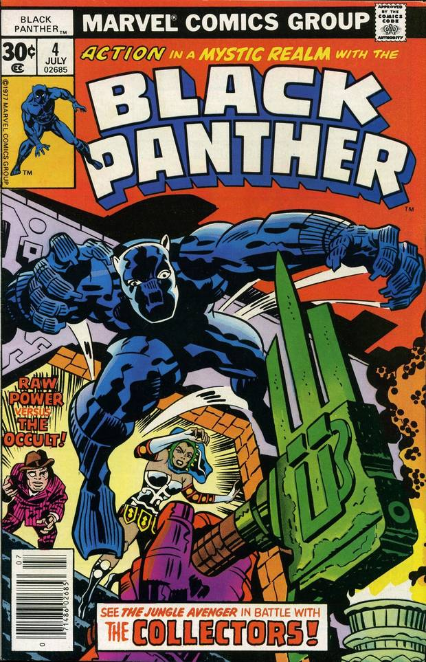 "Jack Kirby's ""Black Panther."" [Marvel Comics]"
