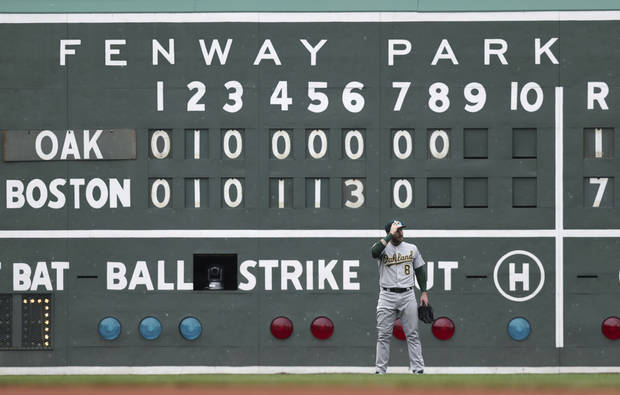 Fenway Park is a baseball cathedral, but plans are to host a college football bowl game at the Red Sox' home after the 2020 seasonn. (AP Photo)