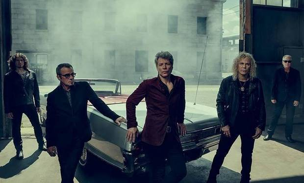 Bon Jovi to play Bridgestone
