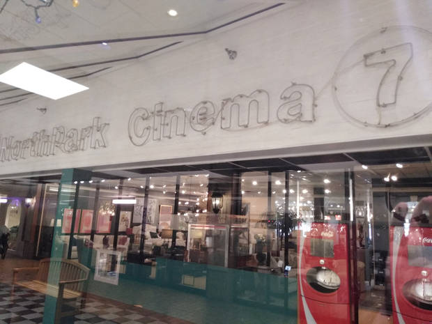 Northpark Cinema closed this weekend after entertaining generations of movie goers since 1973. Photo courtesy of  Hans Wuerflein.