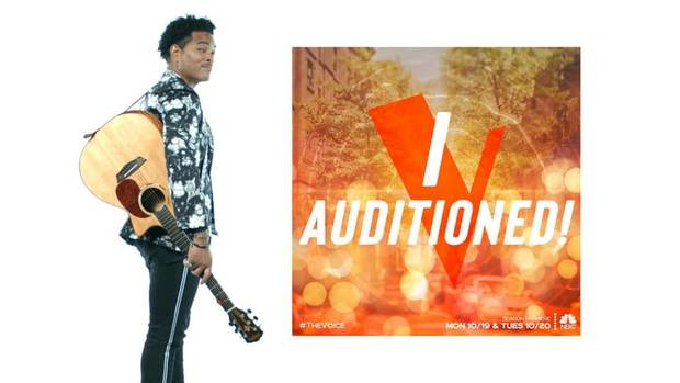 Oklahoma singer Anthony Mason auditions for 'The Voice' Season 19, premiering tonight