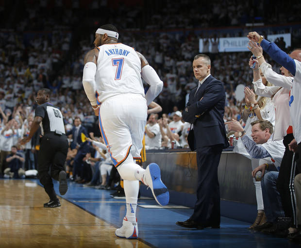 Carmelo Anthony Breaks His Silence on Thunder