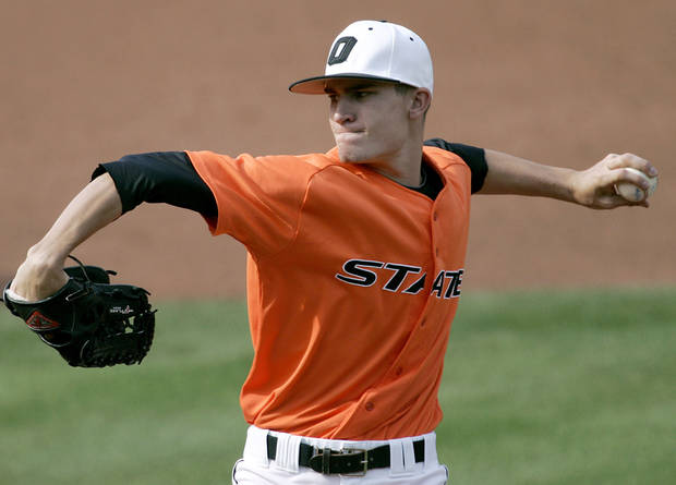 photo - Former Oklahoma State pitcher Andrew Heaney gets his first start in Major League Baseball on Thursday against the New York Mets. Photo by John Clanton, The Oklahoman ORG XMIT: KOD