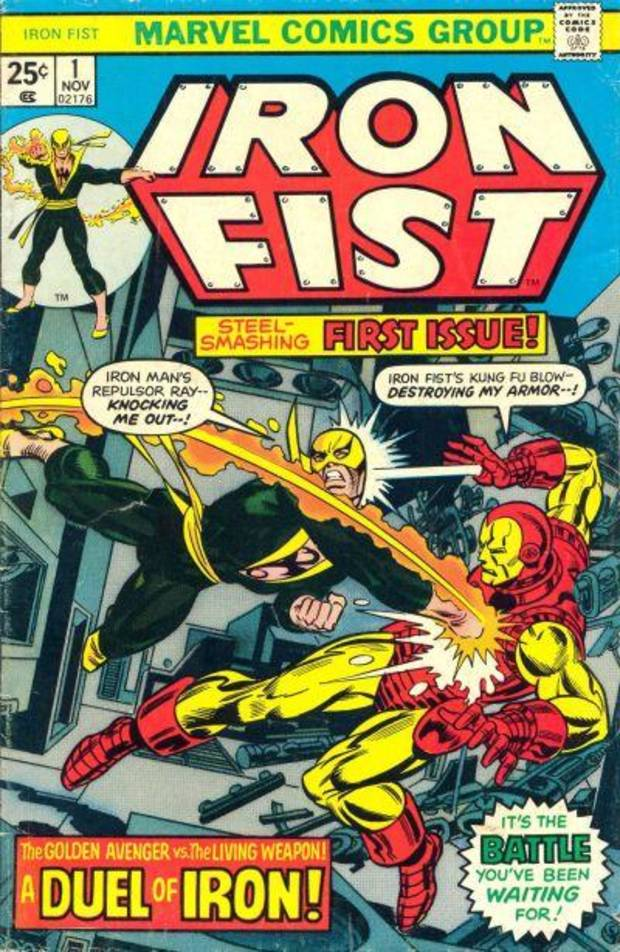 "The first issue of the ongoing ""Iron Fist"" series."