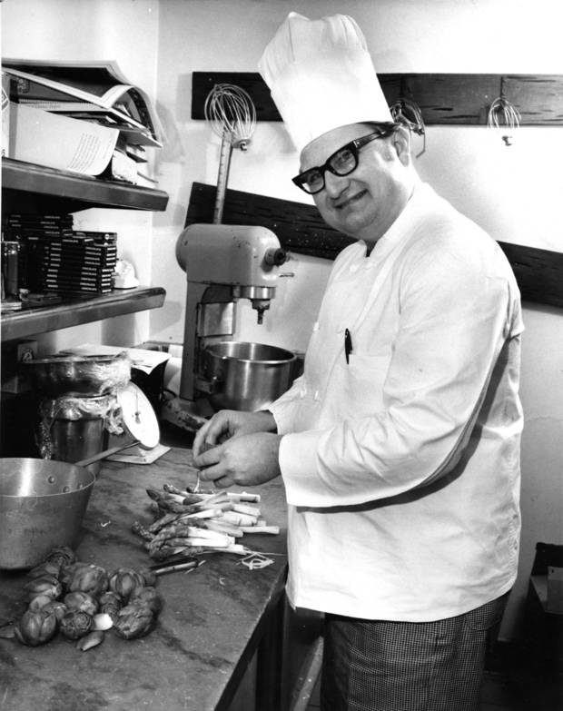 Chef John Bennett during his days at The Cellar at Hightower.