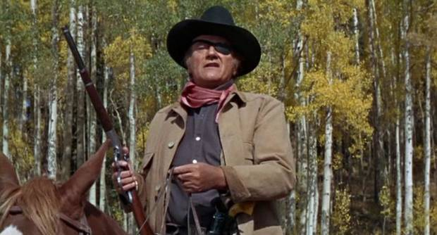 "John Wayne appears in the 1969 film ""True Grit."" [Paramount Pictures photo]"