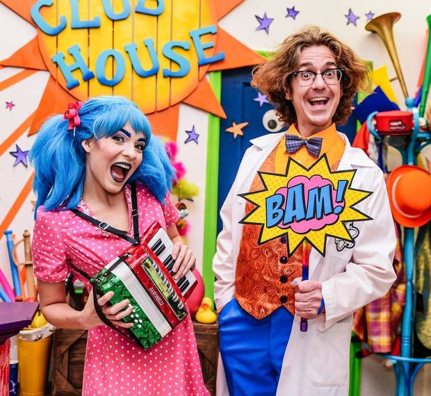 "Matthew Alvin Brown and Emily J. Pace star in ""Lyric's Kids' Clubhouse,"" a web series from Lyric Theatre, and will reprise their roles live in the upcoming ""Lyric Kids' Clubhouse Cabaret"" on the Myriad Gardens Water Stage. [K. Talley Photography]"